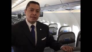 Conociendo el nuevo A321 de Interjet
