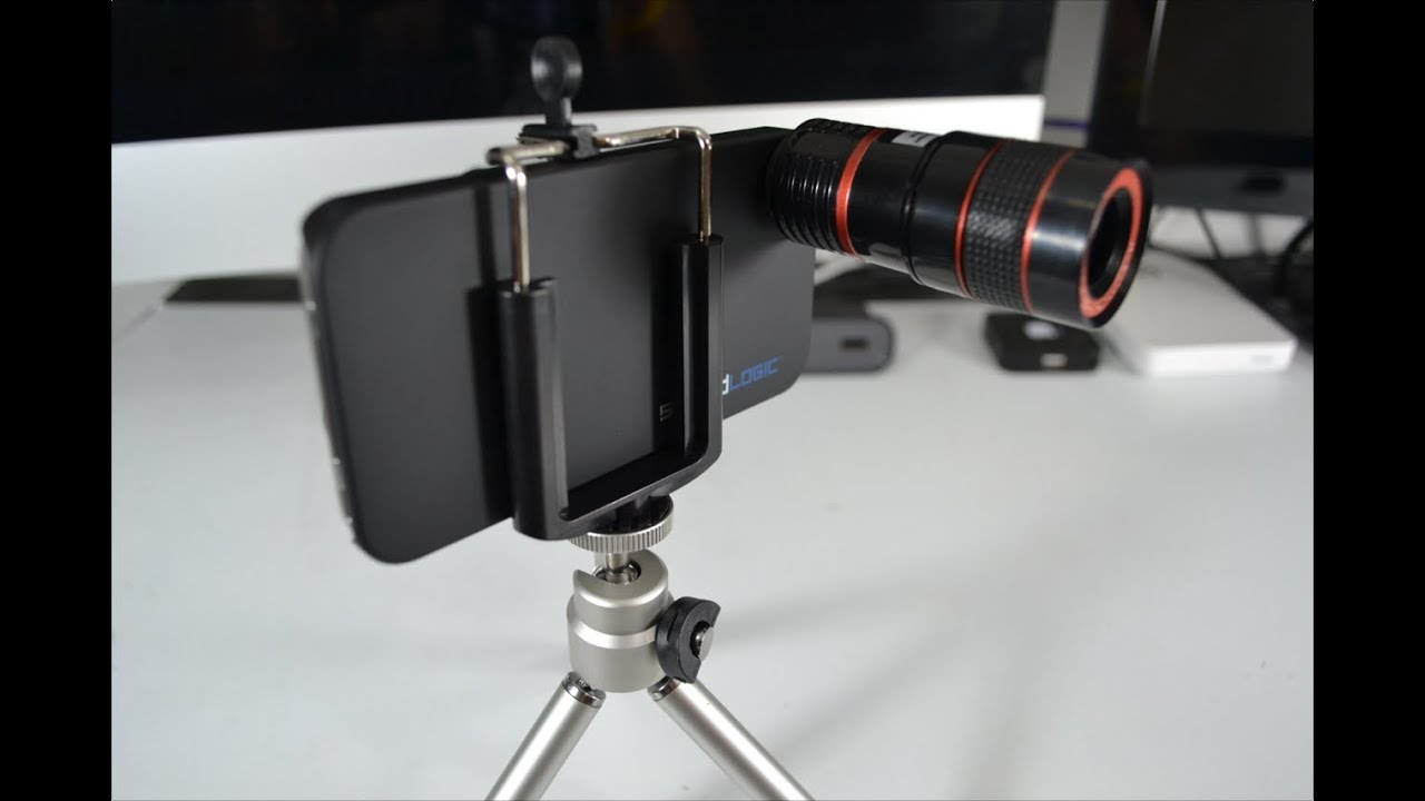 Telescopic lens for iphone 4 youtube