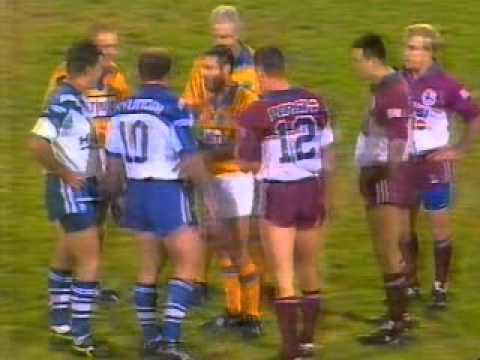 Canterbury v Manly explosive  to a game