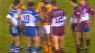 Canterbury v Manly explosive opening to a game