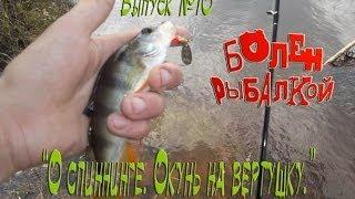 Болен Рыбалкой №10 - О спиннинге. Окунь на вертушку.