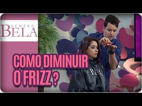 Como Diminuir O Frizz Do Cabelo? | Alô, Sylvio - Sempre Bela (03/08/17)
