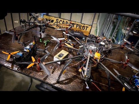 Game of Drones: Fight Club for Quadcopters