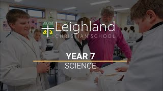 Year 7 -  Science