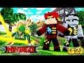 Minecraft LEGO NINJAGO - LLOYD GARMADON BECOMES THE GREEN NINJAGO!!!