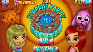 Doli Surprise Party Cake game for girls & kids