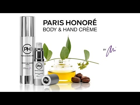 Introducing the PARIS HONORÉ luxury organic BODY & HAND CRÈME