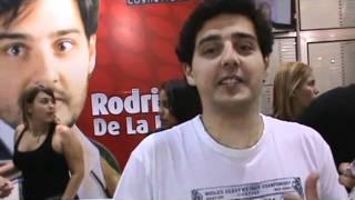 proibidoparagarotos com Rodrigo de la Lastra