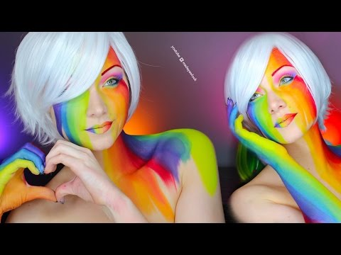 PRIDE Makeup Tutorial | LGBT from YouTube · Duration:  4 minutes 38 seconds