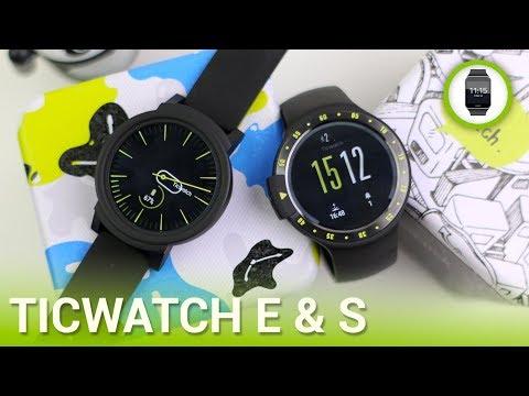 TicWatch E / S (Express/Sport): i migliori Android Wear - RECENSIONE