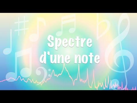 Spectre d'une note de musique et timbre (ondes stationnaires et discrétisation)