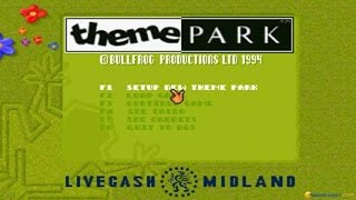 Theme Park gameplay (PC Game, 1994)