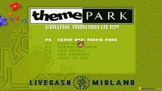 Theme Park gameplay (PC Game, 1994)