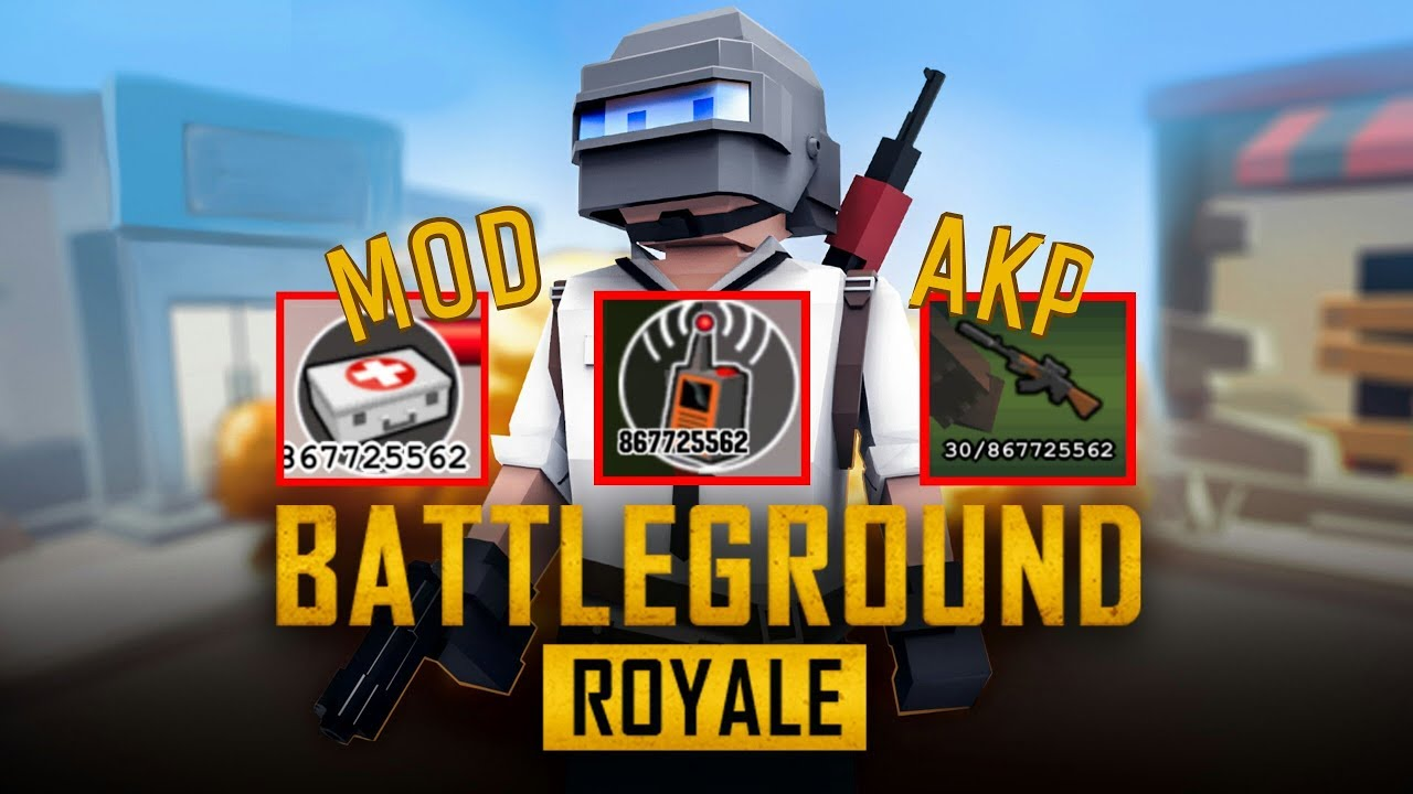 Pixels Unknown Battle Ground v1 30 10 MOD APK Download & Gameplay