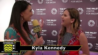 Kyla Kennedy at An Evening with Speechless at the Paley Center