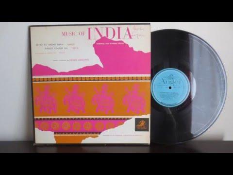 Ali Akbar Khan, Pandit Chatur Lal – India, Morning And Evening Ragas (1956)  - Vinyl Reincarnation
