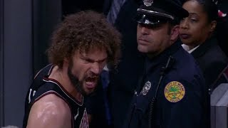 Robin Lopez Gets EJECTED From Game | Bulls vs Heat | March 29, 2018 | 2017-18 NBA Season