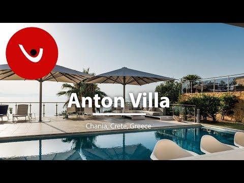 Anton Villa to Rent in Chania Crete Greece | Unique Villas | uniquevillas.gr
