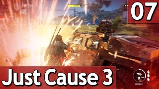 Just Cause 3 #7 PANZER sprengen und ENTKOMMEN 60 FPS Abriss Simulator Lets Play deutsch german