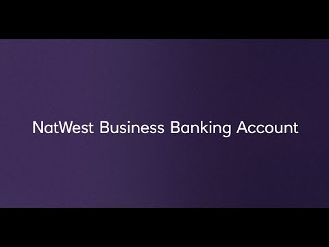 NatWest Business Banking Account  - Online Application Tool