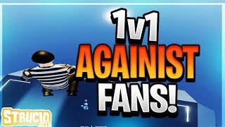 INSANE STRUCID 1V1 WITH FANS FOR ROBUX (ROBLOX FORTNITE)
