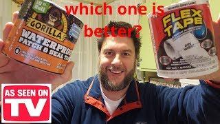 FLEX TAPE vs. Gorİlla Tape: which one is better? [9]