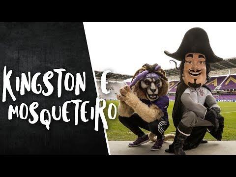 Kingston leva Mosqueteiro para conhecer o estádio do Orlando City