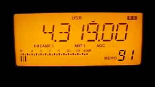 AFN Los Angeles 4319 kHz. 29.11.2011.