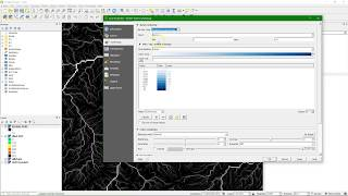 Stream and catchment delineation in QGIS 3