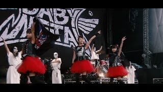 BABYMETAL - Ijime,Dame,Zettai - Live at Sonisphere 2014,UK (Official Video)