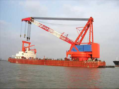 bahrain floating crane kuwait crane barge rent sell buy hire crane ship charter sale