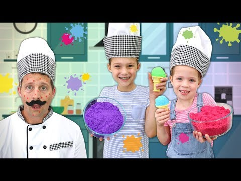 Foam Alive Helps Cure Chef P's Toy Pox!