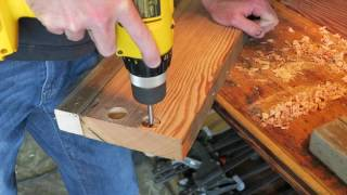 This video is about How to Build a Reclaimed Coffee Table with Drawers.