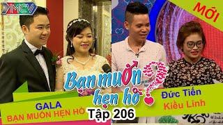 Gala | Đức Tiến - Kiều Linh | BẠN MUỐN HẸN HÒ | Tập 206 | 26/09/2016