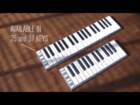 CME Xkey Air: the Thinnest Bluetooth MIDI keyboard