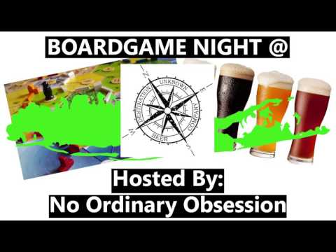 Board Game Night at Destination Unknown Beer Company!