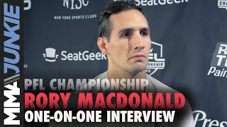 Rory MacDonald discusses his move from Bellator to the PFL