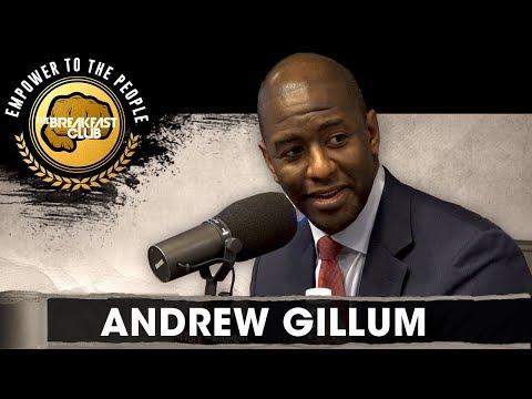 Andrew Gillum Talks Government Shutdown, Immigration + Fighting To Turn Florida Blue