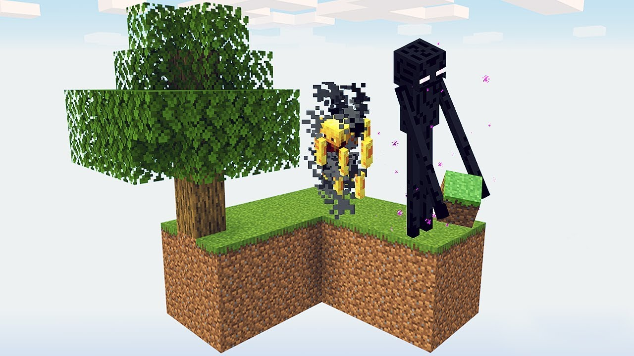 Collecting ender pearl in SKYBLOCK is Super EASY