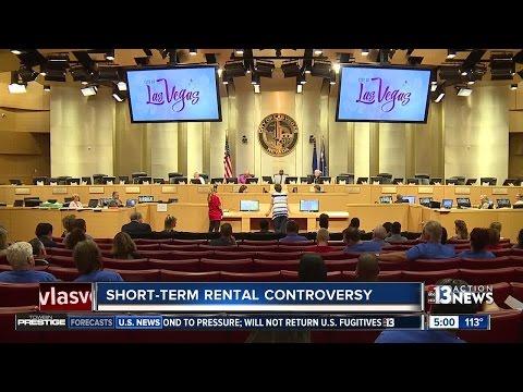 Battle brewing over short term rentals in Las Vegas