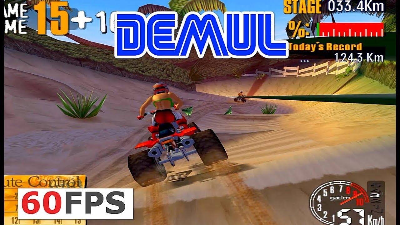 ATV TRACK arcade (GAELCO) 60fps HD Demul emu (2002) by someother1ne