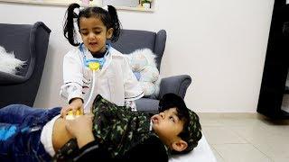 الدكتورة تنقذ العسكري المصاب