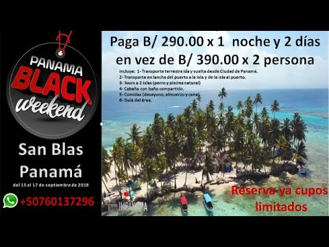 PANAMA BLACK WEEKEND 2018