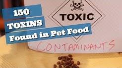 150 Toxins Contaminating Pet Food