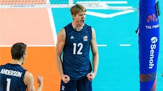 Maxwell Holt | Best Middle Blocker | Tokyo Volleyball Qualification (HD)
