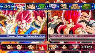 Super Saiyajin´s God VS Super Saiyajin´s Evil | Dragon Bal...