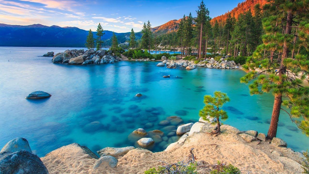Lake Tahoe California Nevada Estados Unidos World