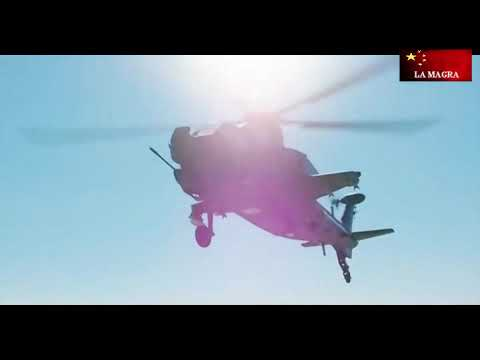 CAIC WZ-10 - Chinese Attack Helicopter - Demonstration ...