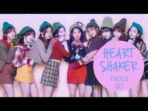 TWICE (트와이스) - HEART SHAKER [8D USE HEADPHONE] 🎧