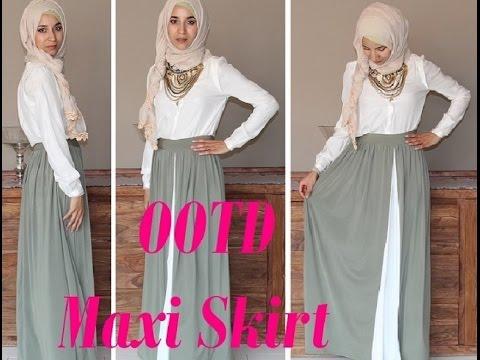 Jupe longue été hijab   Ensconet bf2b4b385620
